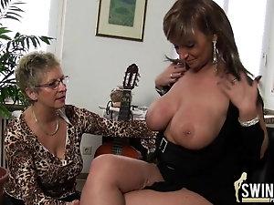 Sex busty cougar adult lesbian