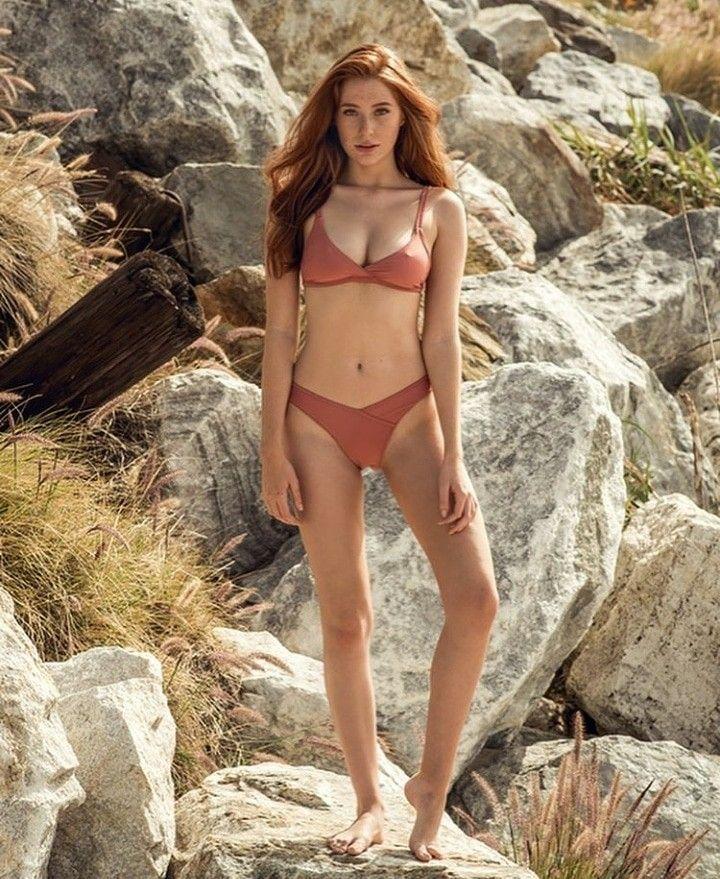 Sommersprossen korper rothaarige mit sexy