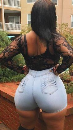 Booty tumblr big auf african teen