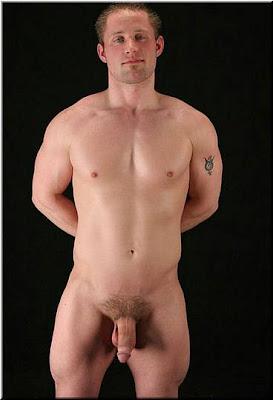 Hetero manner nackt white trash