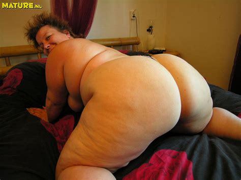 Butt fat big ass granny