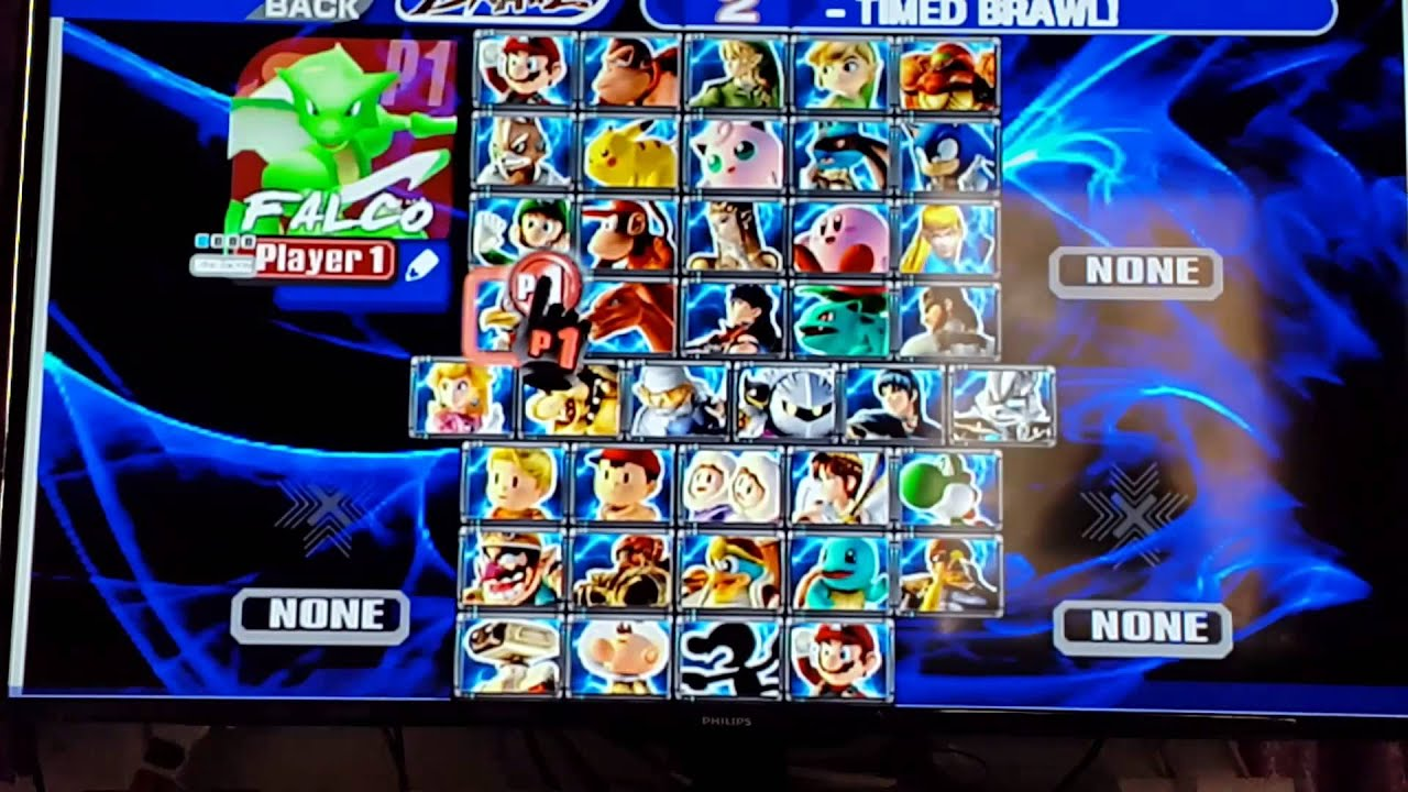 Nackt brawl hack bros super smash