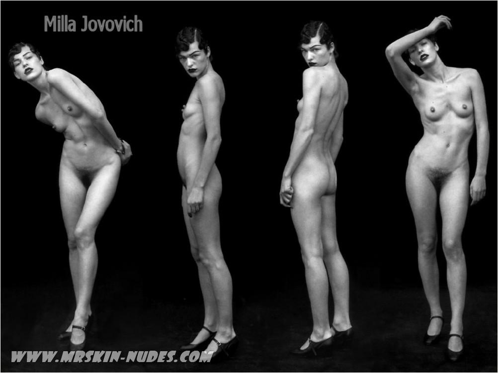 Larter jovovich ali nackt milla