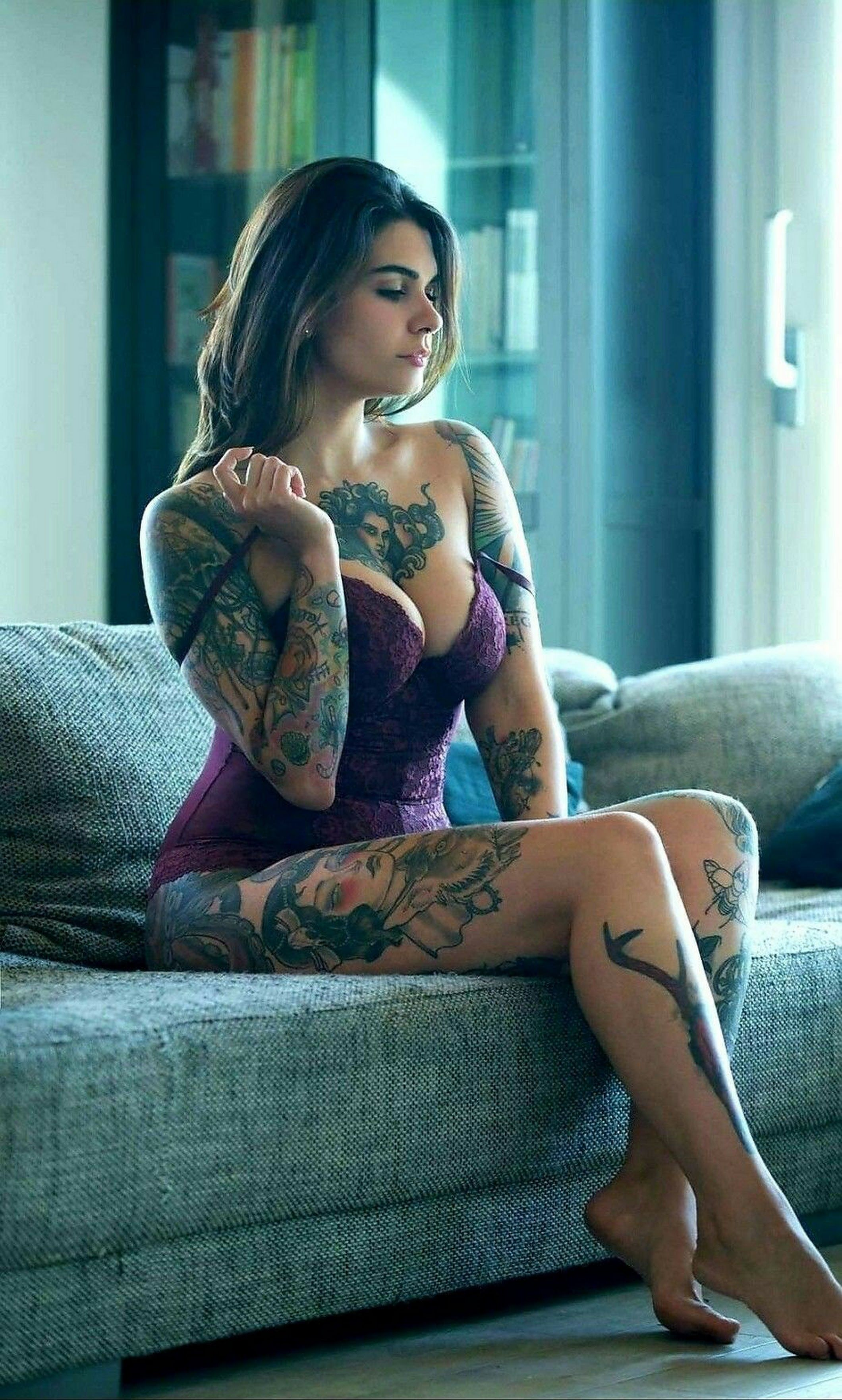 Tattoo hot girls sexy nude mit
