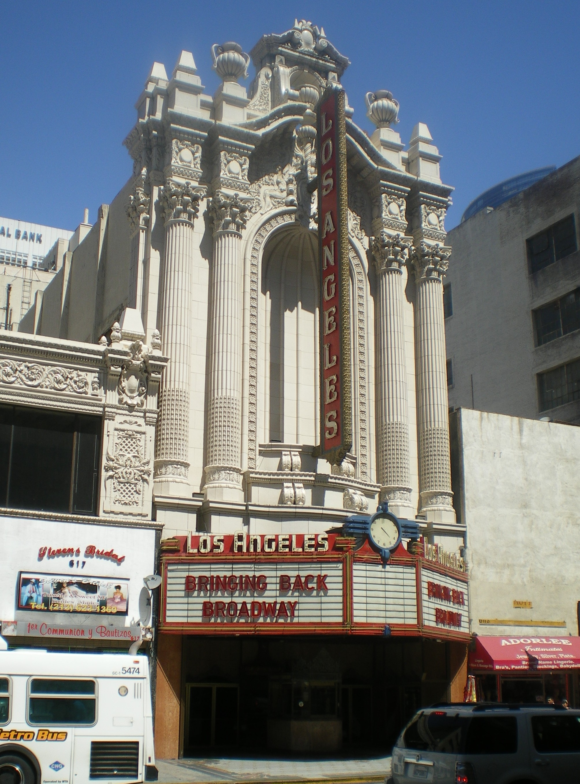 Angeles los sex theater in