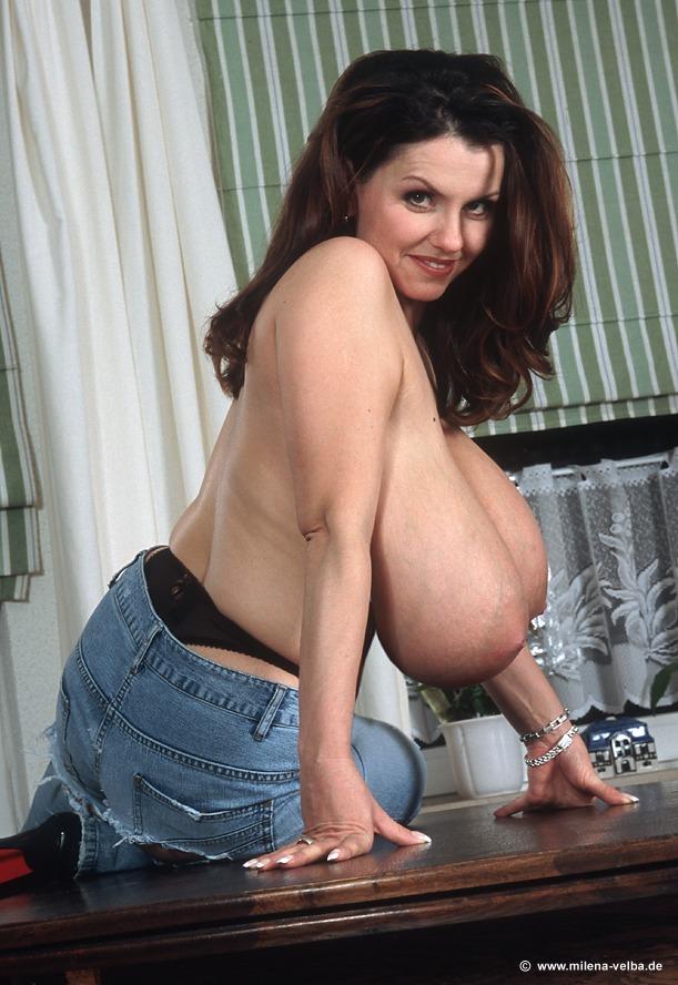 Boobs velba big milena tits