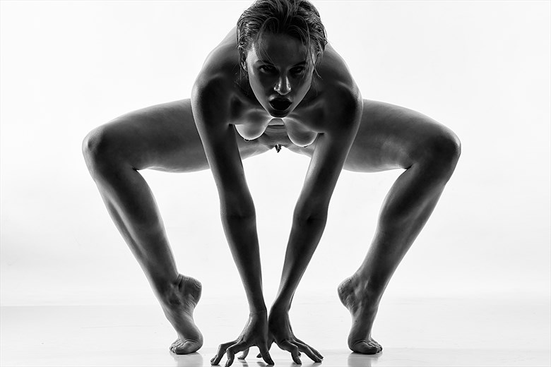 Nude models von black fotos