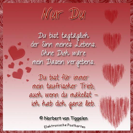 Gedichte liebe liebe dich ich