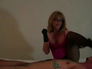 Nymphomanin party nacht frau die blow job