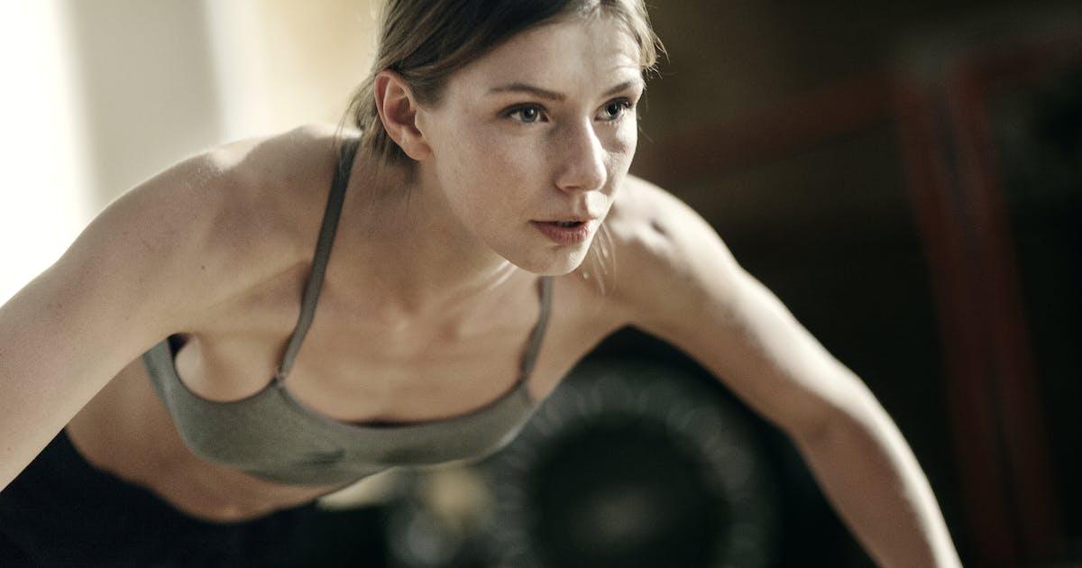 In nackt der fitness korperliche