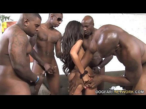 Gangbang riesige hot cum lasten girl black