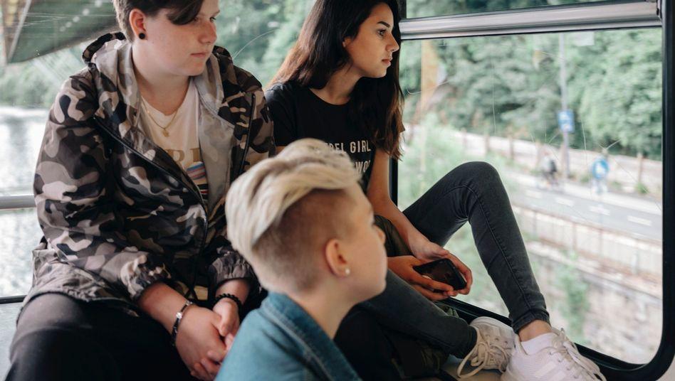 Jungen junge teenager madchen nutzen
