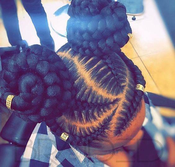 Frisuren schwarze frauen naturliche kurze fur