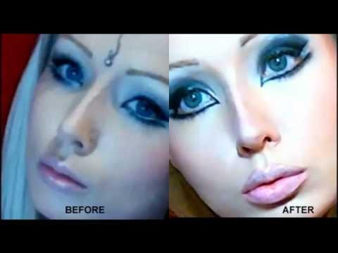 Valeria lukyanova real life barbie