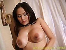 Asian big chui dildo annie tit