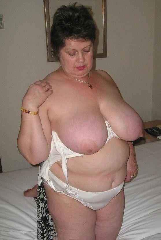 Oma pics big titis fat