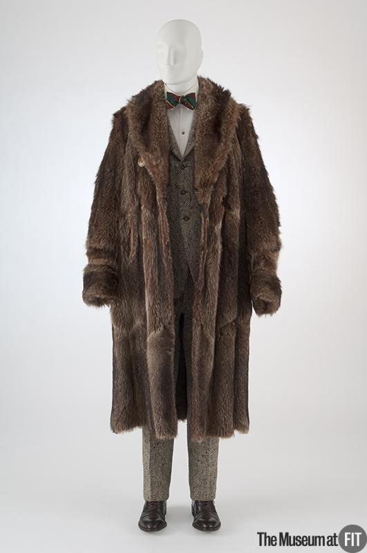 Fur passt vintage style herren