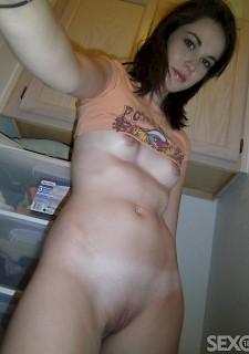 Madchen perfekte nackten korper selfie hot