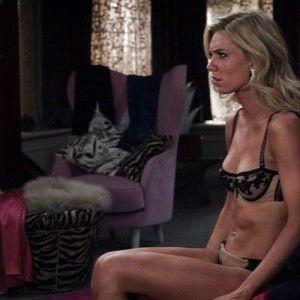 Position sex robbins julie auf hausfrau