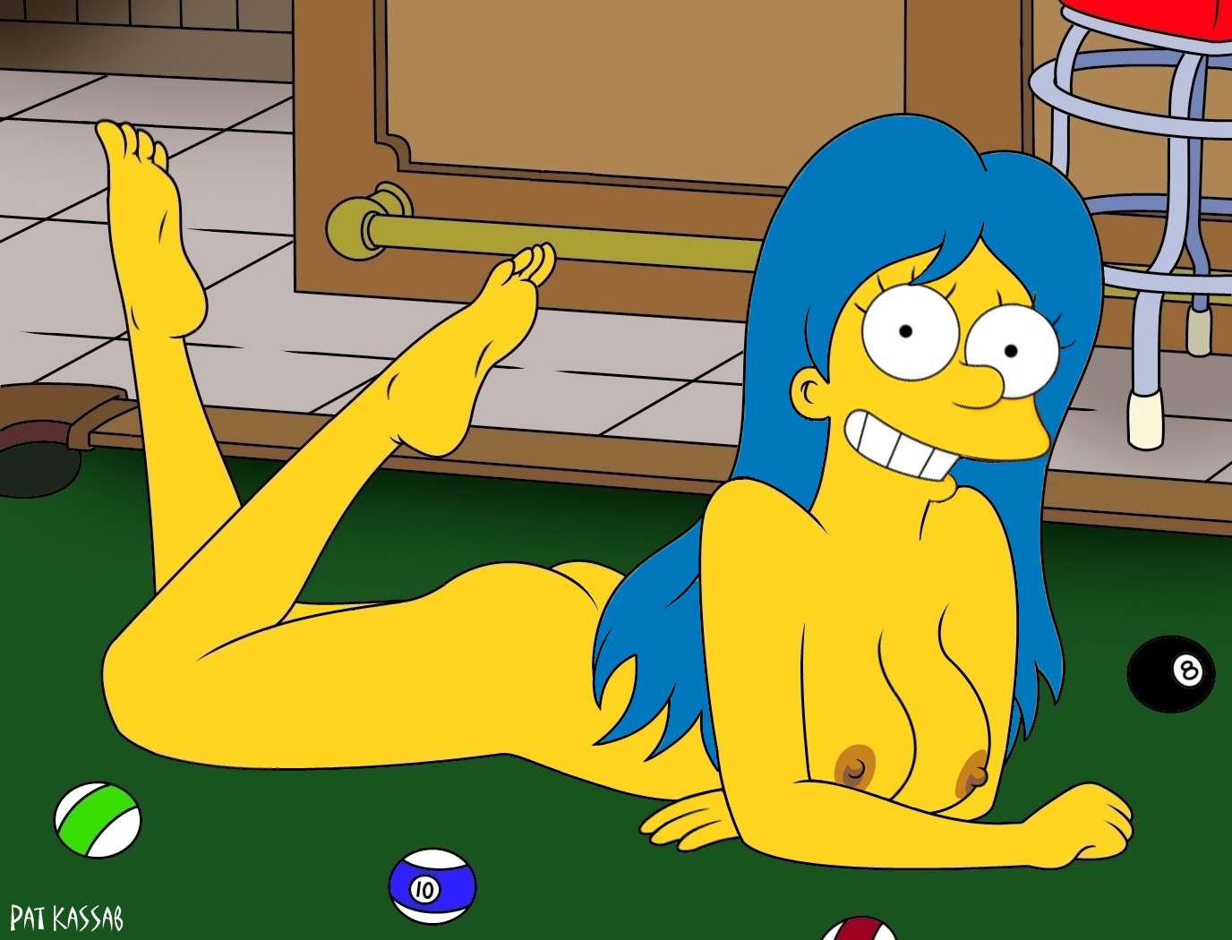 Simpsons marge porno pics nackt bilder