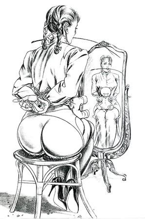 Kunst zeichnungen roger benson spanking