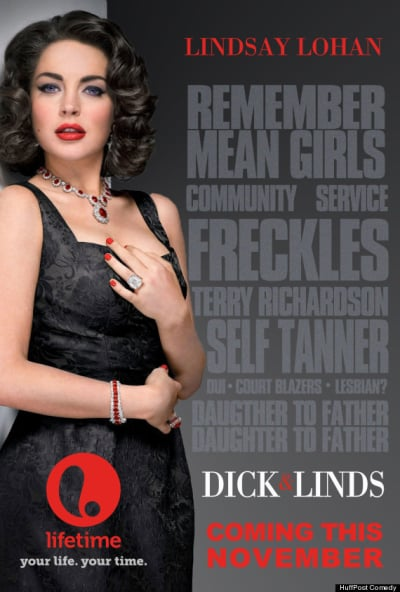 Dick fakes lindsay lohan saugen