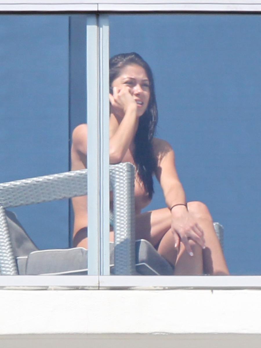 Balkon auf celeste arianny nackt