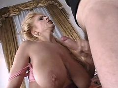 Tit cumshot mature big free