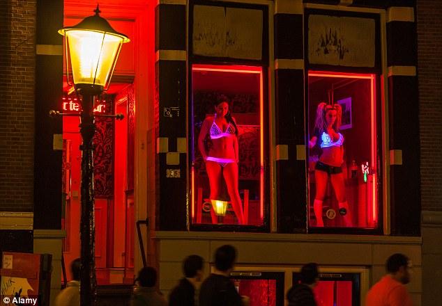 Bdsm amsterdam red light district