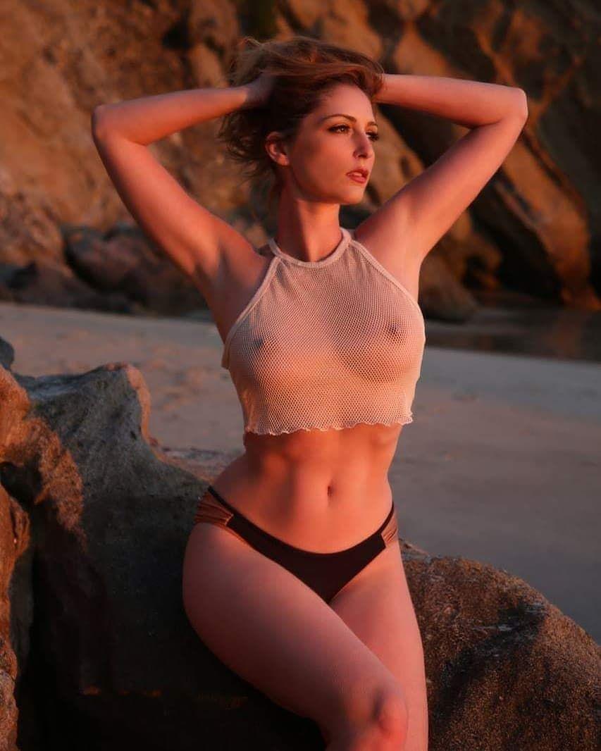 See thru frau bikini in