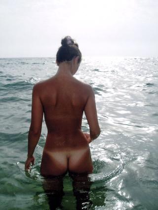 Tan lines arsch big butt