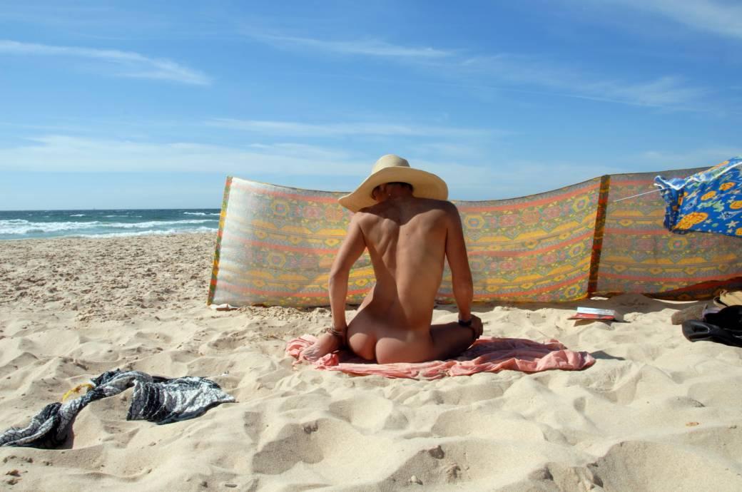 Nackt fkk fkk strand madchen