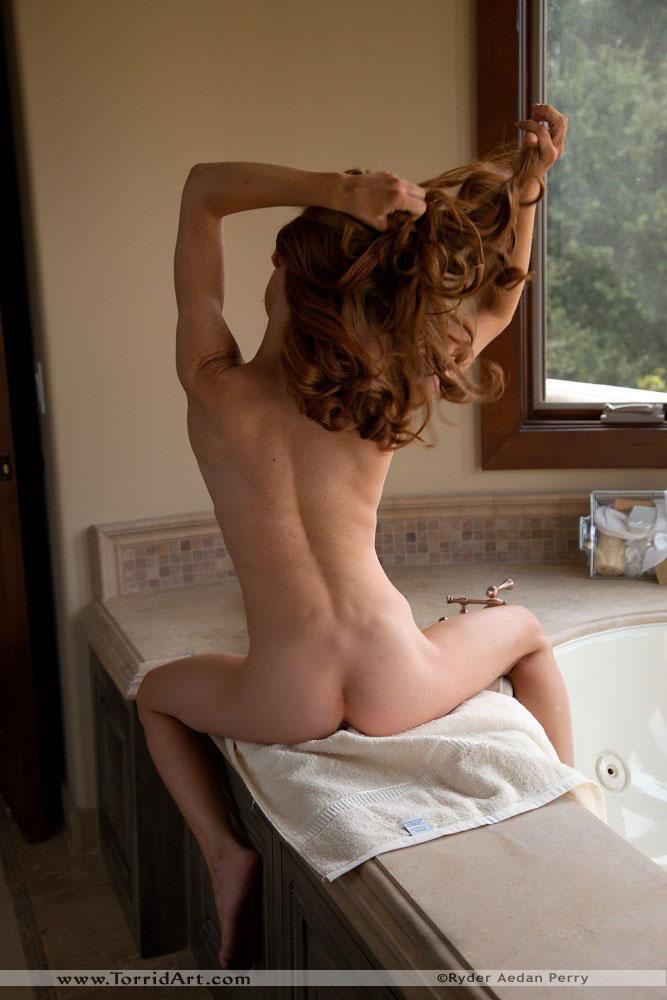 Redhead nude carolin pussy heather