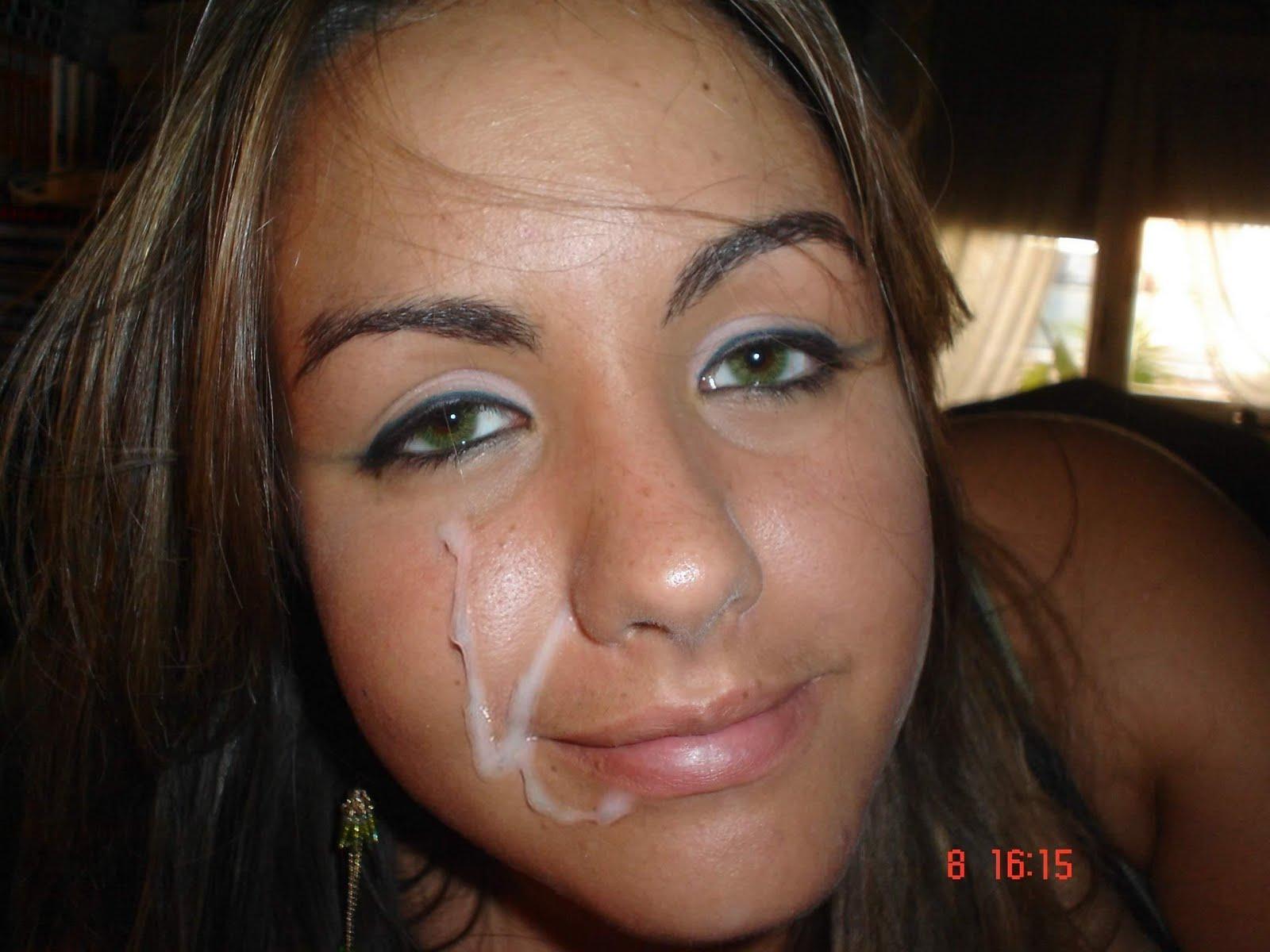 Cum free pic facial shot