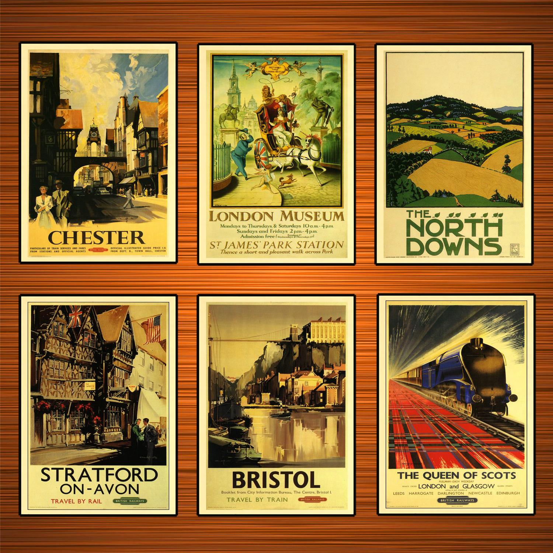 British travel vintage bristol poster