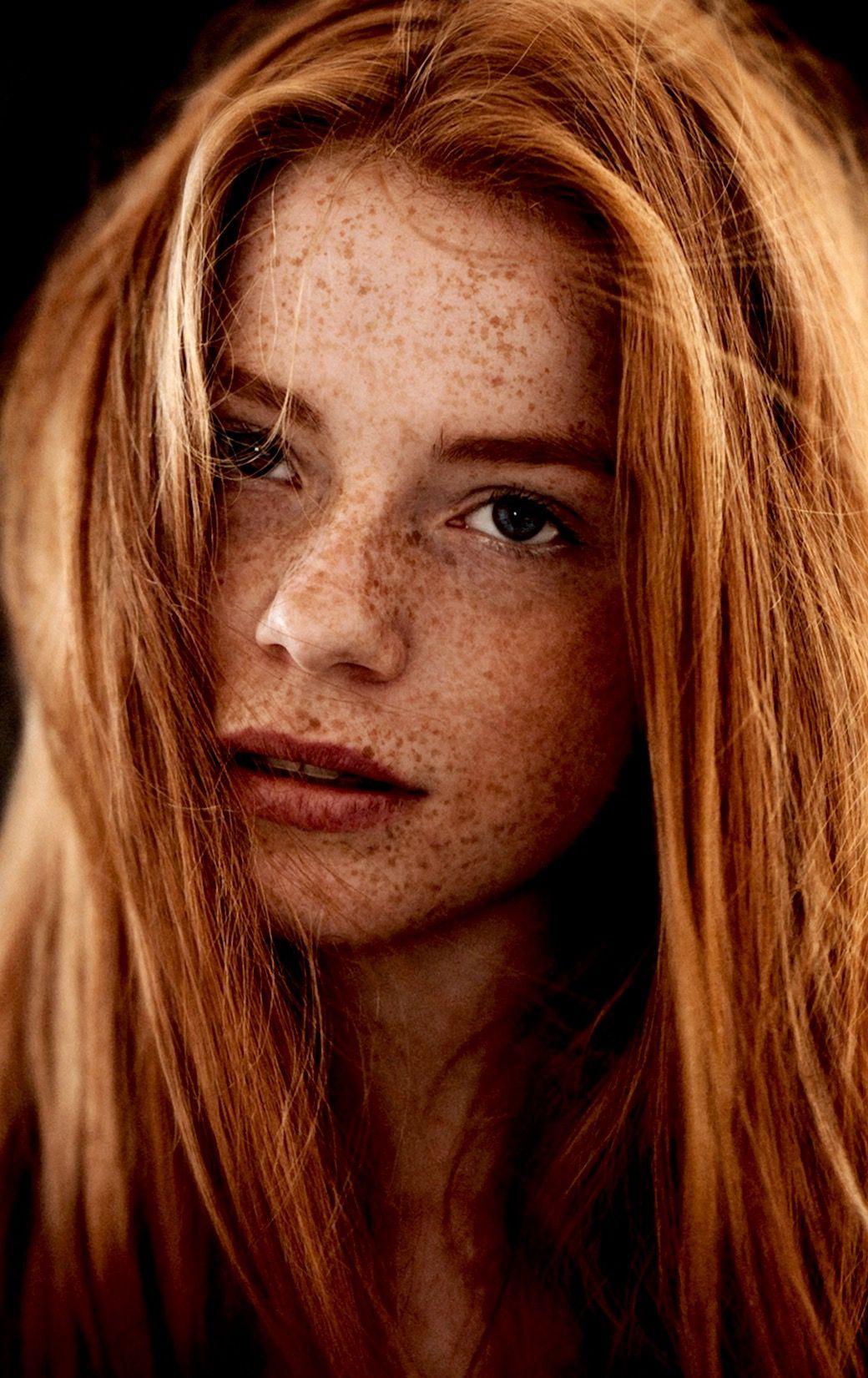 Nackte haare sommersprossen heie frauen rote