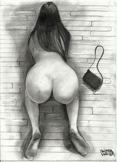 Woman akt zeichnungen wonder sexy