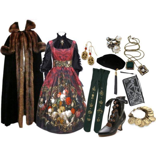 Kleid zigeuner laurent yves vintage saint.