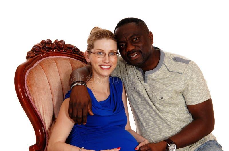 Mann weier schwangere frau schwarze