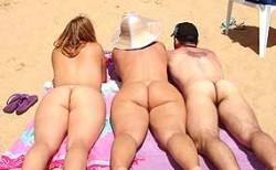 Nackt brasilianischen madchen in strand