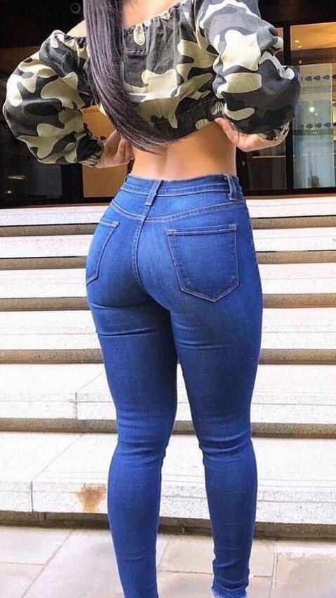 Arsch jeans madchen sexy in