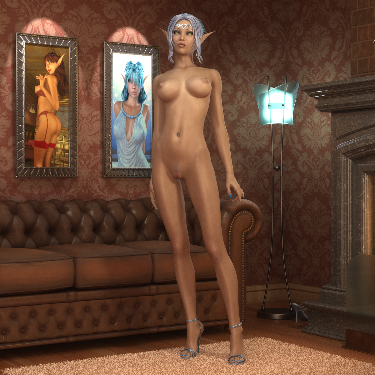 Fantasy madchen sexy nackt elfen