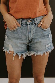Shorts jean blonde hot winzigen