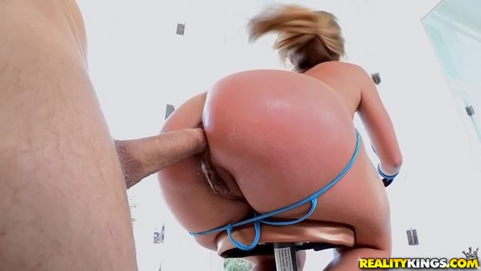 Big sheena butt shaw wet