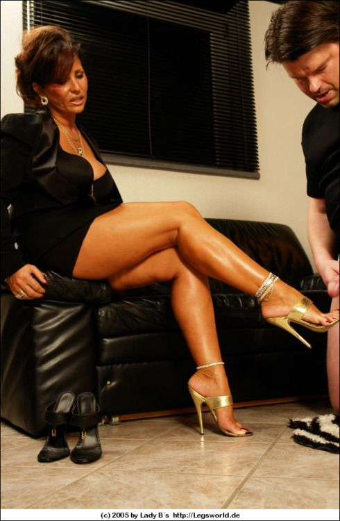 Lady legsworld barbara milf reife