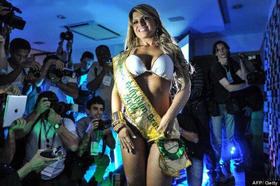 Bum felizardo carine miss brasilianische