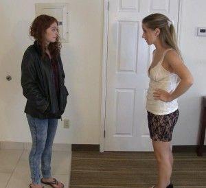 Ausziehen kleidung der girl teen