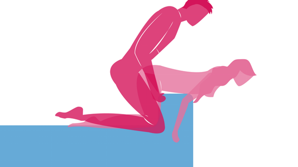 Positions illustrated fotze high sex