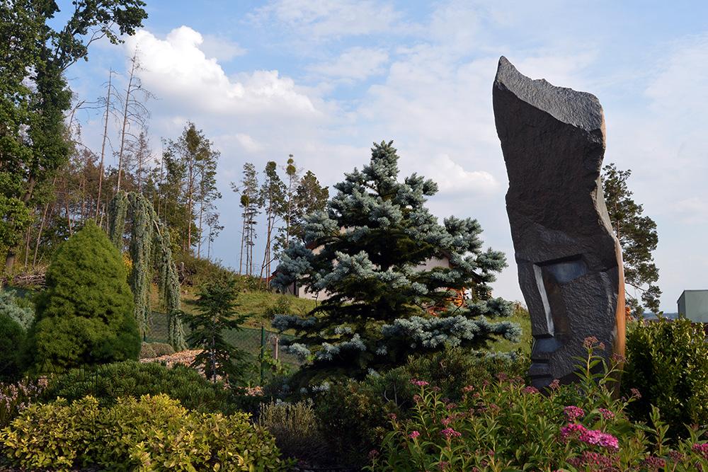 Plastiken garten im statuen asiatischen