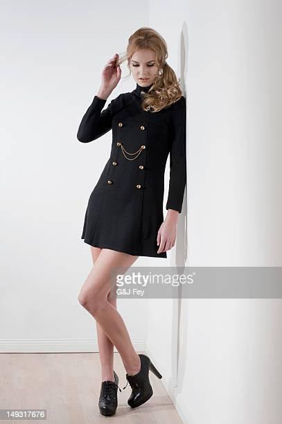 High heels sexy latina in transen